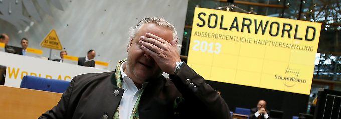 Der Solartechnik-Hersteller Solarworld AG hat bekanntgegeben, dass der Vorstand einen Insolvenzantrag stellen muss.