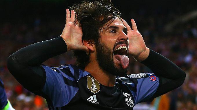 Der Atlético-Schreck hat einen Namen: Isco vollstreckt nach genialem Solo von Benzema.