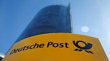 Die Deutsche Post bleibt mit ihrem Gewinnwachstum hinter den Erwartungen zurück.