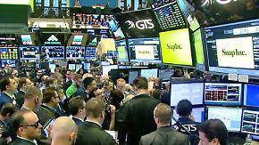 Enttäuschende Zahlen: Snapchat-Aktie stürzt um rund ein Fünftel ab