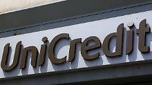 Die italienische Großbank UniCredit startet überraschend stark ins Jahr