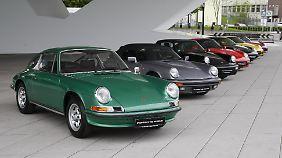 Gut zwei Drittel aller gebauten Porsche 911 sind heute noch auf den Straßen.