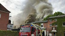 Hunderttausende Euro Schaden: Großbrand versetzt Bayreuth in Aufruhr