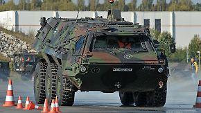 Truppenübungsplatz Munster: Unbekannte stehlen Waffen aus Bundeswehr-Panzer
