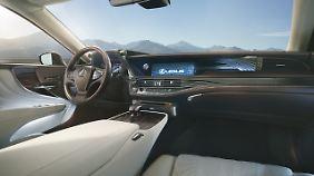 Lexus bietet viel Luxus. Den lässt man sich aber auch entsprechend bezahlen.