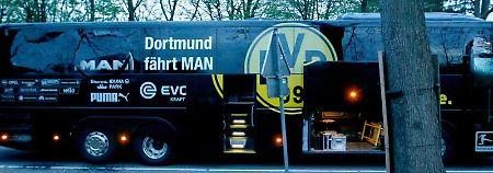 Anschlag auf BVB-Bus