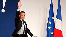Emmanuel Macron besucht Angela Merkel am Montag.
