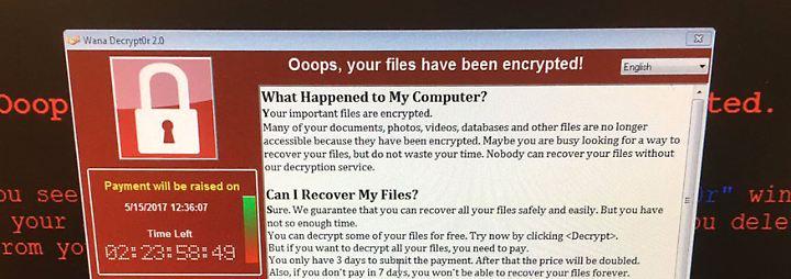 """Weltweite Cyber-Attacke: """"Risiko besteht, Rechner nicht mehr zu entschlüsseln"""""""