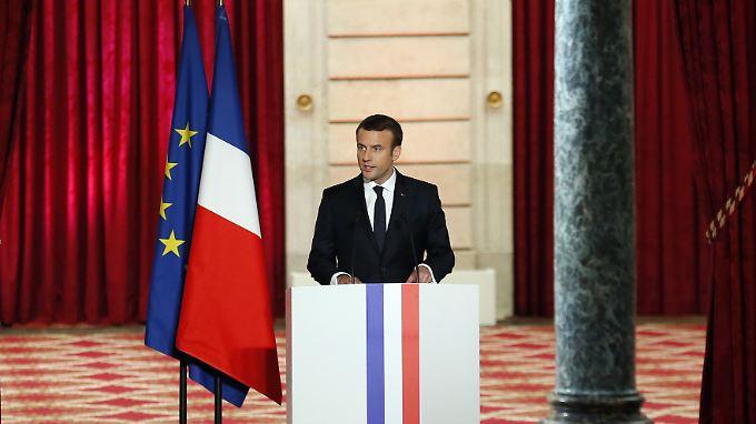 Will für Wachstum sorgen: Emmanuel Macron.