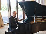Spiel's noch einmal, Wladimir!: Putin beeindruckt Chinesen am Klavier