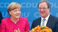 Person der Woche: Armin Laschet: NRW-Ministerpräsident übt Kanzlerkandidat