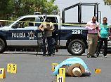 Bandenkrieg in Mexiko: Unbekannte erschießen berühmten Reporter