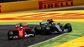 """Stimmen zum Ferrari-Mercedes-Duell: """"Das wird ein Riesen-Fight in der Formel 1"""""""