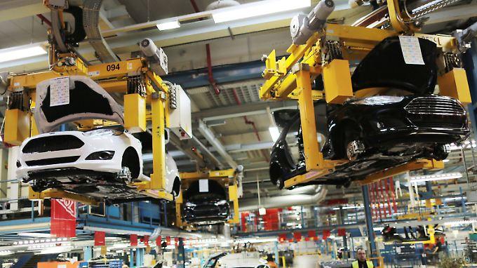 Das Ford-Werk in Köln. Werden auch hier demnächst Stellen gestrichen?