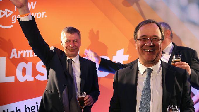 Der NRW-CDU-Generalsekretär Bodo Löttgen (l.) wirft der SPD komplette Handlungsunfähigkeit vor.