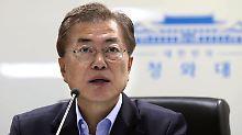 Konflikt mit Nordkorea: Südkoreas Präsident rechnet mit Krieg