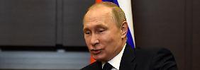 Was verriet Trump Lawrow?: Putin bietet Notizen von umstrittenem Treffen an
