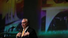 Brasiliens Präsident unter Druck: Temer in Korruptionsskandal schwer belastet