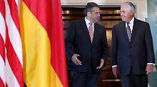 Incirlik-Streit mit der Türkei: Gabriel bittet in Washington um Hilfe