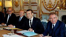 Ausgefallenes Kabinett: Macrons Regierung ist ein Experiment