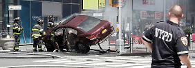 Video: Autofahrer rast am Times Square in Menschenmenge