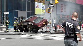 Attacke unter Drogeneinfluss?: Autofahrer rast am Times Square in Menschenmenge