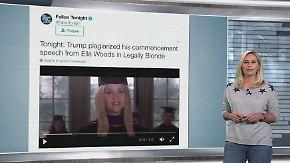 """n-tv Netzreporterin: Trump soll Rede bei Film """"Natürlich blond"""" abgekupfert haben"""