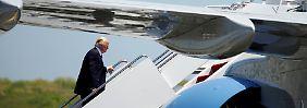 Acht Tage Ausland: Auf Trump warten viele peinliche Momente