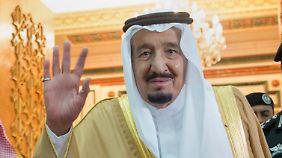 """Saudi-Arabiens König Salman ist Trumps erster Gesprächspartner. Die arabischen Staatschefs mögen den neuen US-Präsidenten - er gilt als """"stärker"""" als sein Vorgänger."""