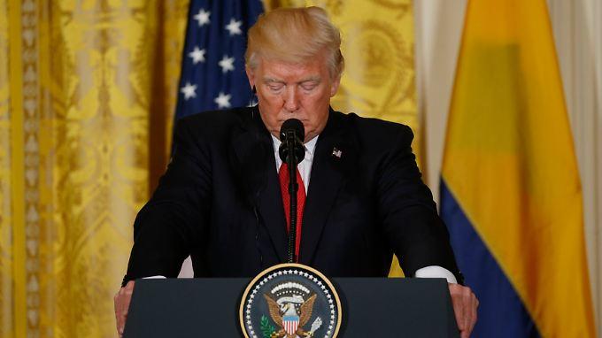 Donald Trump will den Islamischen Staaten mit einem Strategiewechsel