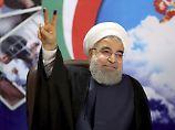 Amtsinhaber setzt sich durch: Ruhani gewinnt Präsidentenwahl im Iran