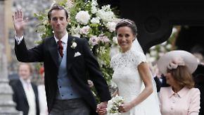 Märchenhochzeit für Kates Schwester: Pippa Middleton ist unter der Haube