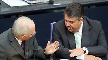 SPD stellt sich gegen Schäuble: Gabriel fordert Erleichterungen für Athen