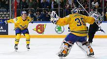 Kanada verzweifelt im Finale: Schweden vergoldet seine Eishockey-WM