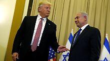 Vorwurf des Geheimnisverrats: Trump will Israel nie erwähnt haben