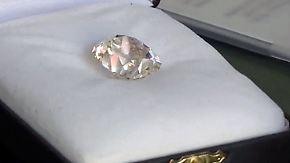 26-Karat-Diamant vom Flohmarkt: Vermeintlich wertloser Ring entpuppt sich als Edelstein