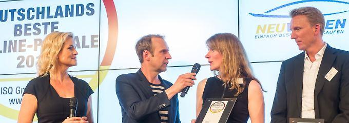 Preisträger ausgezeichnet: Das sind Deutschlands beste Online-Portale