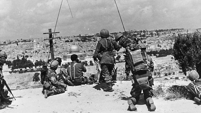 Der Sechs-Tage-Krieg dauerte vom 5. bis zum 10. Juni 1967 und markiert den Beginn der Besatzung.