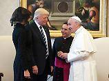 """""""Er ist wirklich gut"""": Trump begeistert von Treffen mit Papst"""