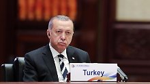 Ob Präsident Erdogan nun genug Menschen inhaftiert hat?