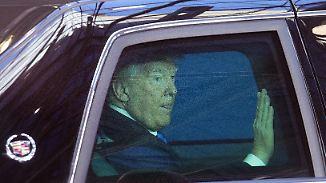 Gastgeschenk: Anti-IS-Koalitionsbeitritt: Trump nimmt erstmals an Nato-Gipfel teil