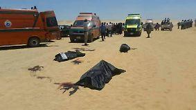 Angreifer eröffnen Feuer auf Bus: Dutzende Kopten sterben bei Attentat in Ägypten