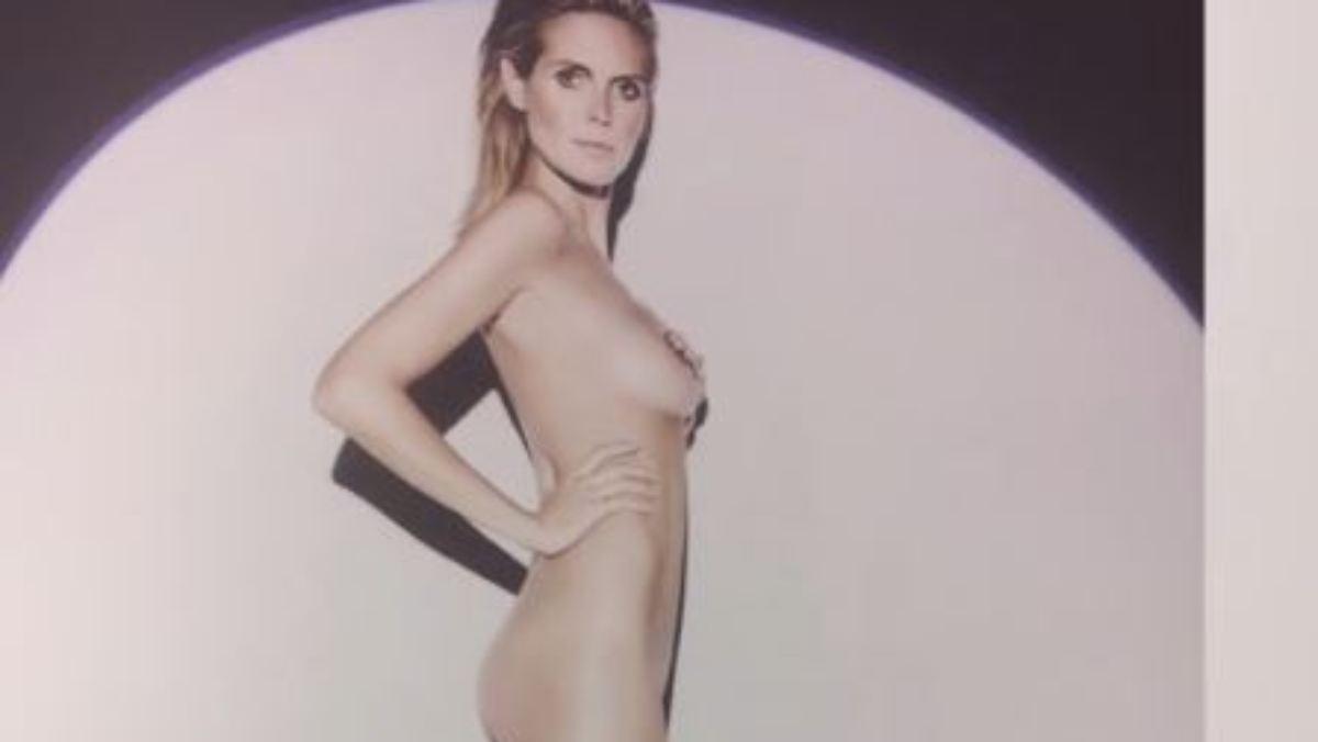 Heie Nacktfotos: Jetzt zeigt Heidi Klum wirklich alles