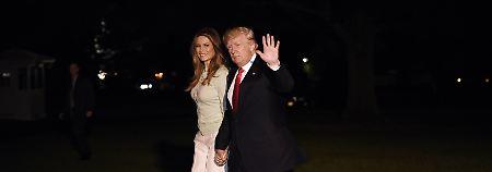 Erste Auslandsreise beendet: In Amerika warten Trumps Affären