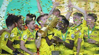 Fußballkrimi in Berlin: Dortmund holt den DFB-Pokal im vierten Anlauf