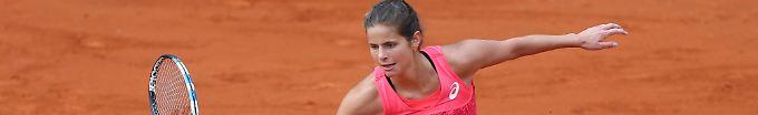 Julia Görges ist bei den French Open ausgeschieden.