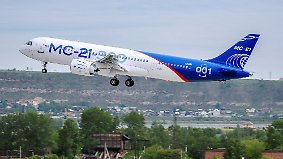 Erfolgreicher Jungfernflug des MS-21: Russland feiert Vorstoß in ziviler Luftfahrt