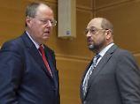 SPD nervös: Die große Steinbrück-Schulz-Honecker-Show
