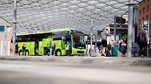 Wenn es schnell gehen muss: Verkaufen auch Fernbusfahrer Tickets?