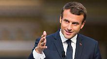 Chemiewaffen im Syrienkrieg: Macron droht mit Vergeltungsschlägen